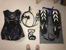 Scuba Gear/Diving Gear/Snorkel in Okinawa, Japan