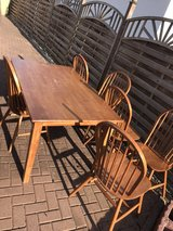 Dining Table / Chairs / Bench in Ramstein, Germany