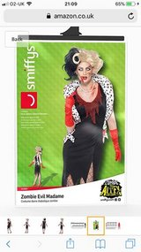 New Woman's Zombie Evil Madame Outfit (RRP £25) in Lakenheath, UK
