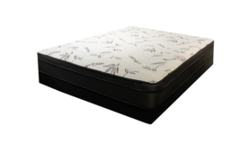 Pillow Puff  Queen Mattress and Box in Camp Lejeune, North Carolina