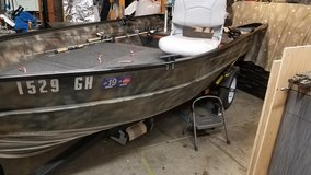 12 foot custom Valco aluminum boat/motor in Vacaville, California