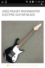 peavey electric guitar in Cleveland, Texas