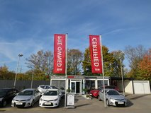 Lots of Certified Pre-Owned Stock in Hohenfels, Germany