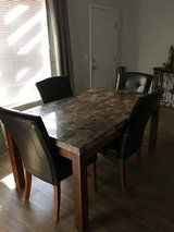 Marble Tile Dining Room Table in El Paso, Texas