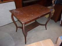 Art Deco Style Library Table With Drawer in Fort Riley, Kansas