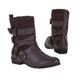 Strap Buckle Calf Boots in Ramstein, Germany