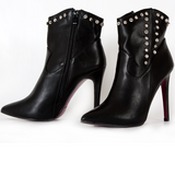 Black Studded Ankle Boots in Ramstein, Germany