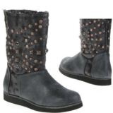 Gray Studded Boots in Ramstein, Germany