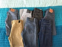 7 pairs Boys 14 jeans in Warner Robins, Georgia