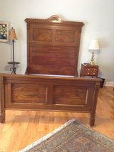 Eastlake. Antique Walnut double bed in Fort Campbell, Kentucky