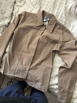 women's khaki long sleeve blouse in Temecula, California