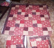 Patch Work Double Bedspread and Matching Cases in Alamogordo, New Mexico