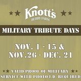 Knott's Berry Farm Military Days in Lake Elsinore, California