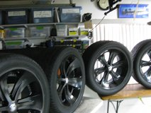 FOOSE WHEELS AND TIRES 22 INCH X 9.5 WIDE SET OF 4 in Yucca Valley, California