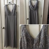 Beautiful silverish gray formal dress in Fort Hood, Texas