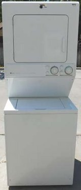 STACK MAYTAG WASHER & ELECTRIC DRYER in Vista, California