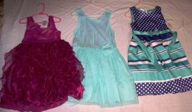 Girl's Dresses Size 7/8 (BLUE & TEAL SOLD) in Alamogordo, New Mexico