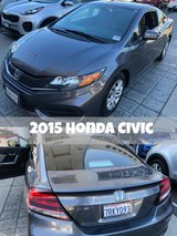 2015 Honda Civic coupe in San Diego, California
