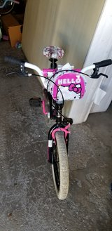 "Hello Kitty 18"" Girl Bike with training wheels in Naperville, Illinois"
