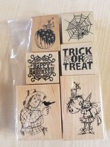 Halloween stamps for cards in Kingwood, Texas