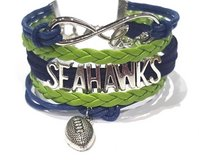 SEATTLE SEAHAWKS Infinity Charm Bracelet *** NEW *** in Fort Lewis, Washington