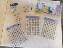 Assortment of craft stamps & stickers in Kingwood, Texas