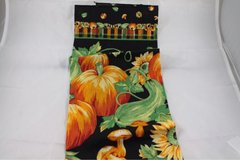 LINENS and CLOTHING: pumpkin towels, doilies, Red and green napkins in Phoenix, Arizona