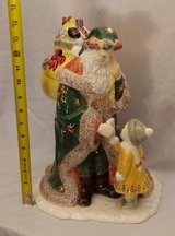 WATERFORD CHRISTMAS HOLIDAY HEIRLOOMS LETTER TO SANTA COOKIE JAR BOX 130869 in Chicago, Illinois
