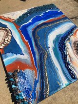 Geode painting in Camp Pendleton, California