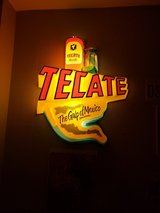 Large Tecate Beer Light in Vacaville, California
