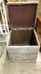 Hinged Wicker Storage Piece in Fort Campbell, Kentucky