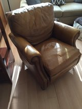 Havertys Leather Recliner in Camp Humphreys, South Korea