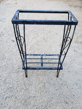 Metal stand table in 29 Palms, California