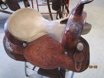 Clean & condition saddles, in Fort Leonard Wood, Missouri