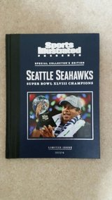 "SEATTLE SEAHAWKS XLVIII CHAMPIONS SI ""RARE"" Special Limited Edition Book *** NEW in Tacoma, Washington"
