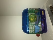 Hamster/Gerbil critter tail cage with leftover food in Camp Lejeune, North Carolina