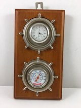 nautical clock and thermometer - New! in Los Angeles, California