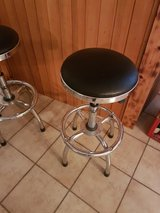 Stools  -- Stainless Steel and Black x 4 in Stuttgart, GE