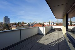 Penthouse apartment, nicely furnished with two patios in Stuttgart Möhringen - AG185392 in Stuttgart, GE