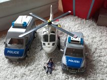 Playmobil vehicles police in Ramstein, Germany
