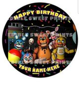 Edible Sticker for cakes in Bartlett, Illinois