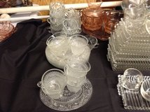 Glass luncheon set in Pleasant View, Tennessee