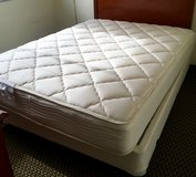 Double Sided Queen Mattress & Box Spring in Okinawa, Japan