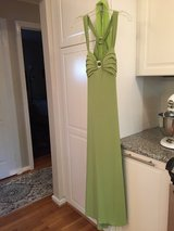 Formal ball gown/dress, light green in Quantico, Virginia