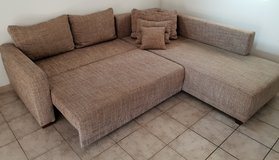 Couch + Bed + Storage in Ramstein, Germany
