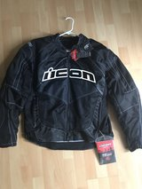 icon CONTRA motorcycle jacket XL in Ramstein, Germany