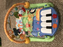 Fisher price baby play mat with piano in Naperville, Illinois