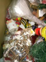 moving box full of christmas decor/ dwcoration/ Christmas in Ramstein, Germany