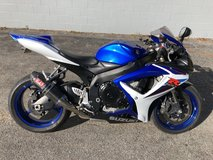 2007 Suzuki GSX-R600 in Wilmington, North Carolina