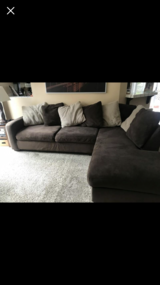 Ashley's furniture couch in Vista, California